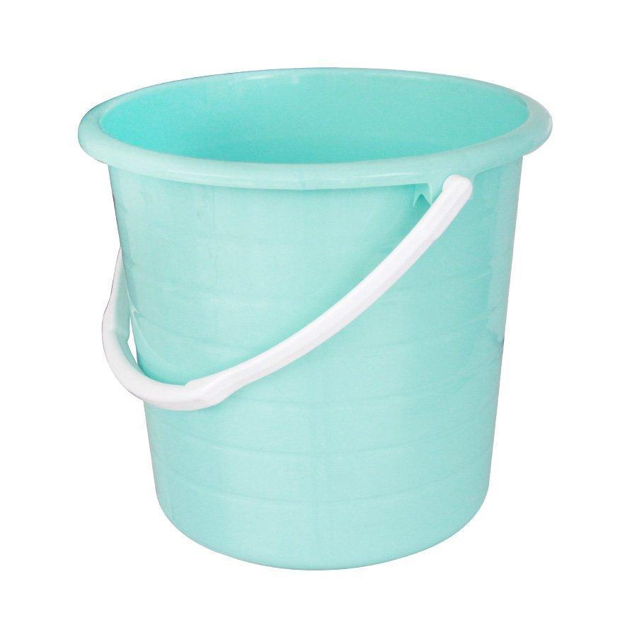BU180  Basics Pail Without Lid - Blue + White