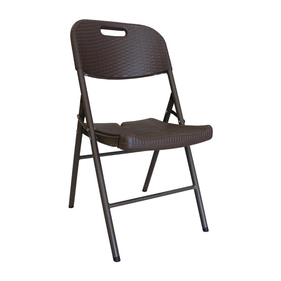 Brown Anders Folding Chair - Mandaue Foam