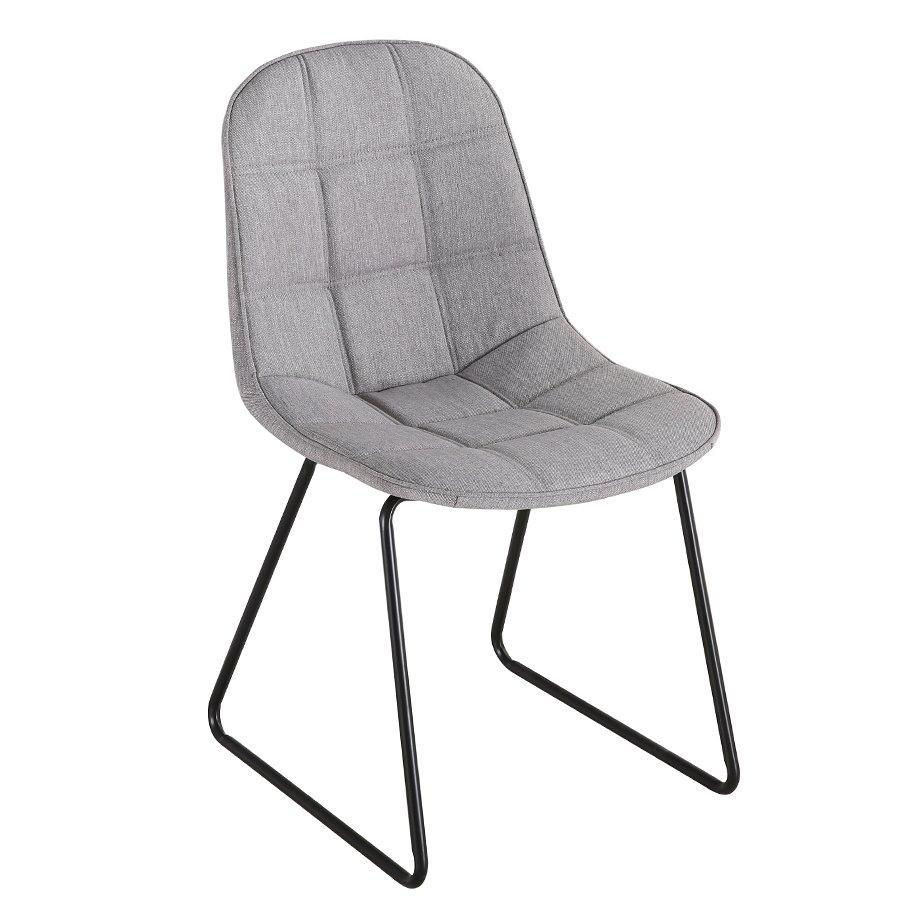 Garcian Chair - Light Grey - Mandaue Foam