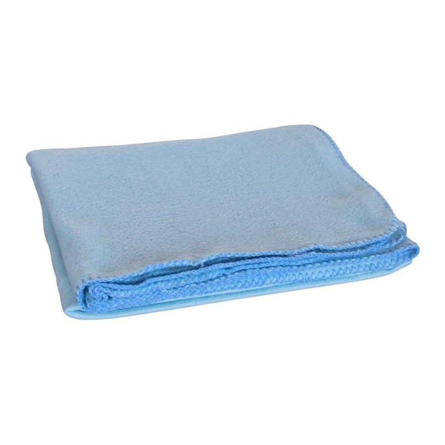 PF02S/1349 Plain Blue Polar Fleece Blanket