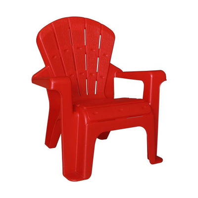 HXC-815-1 Red Plastic Kids Chair with Armrest