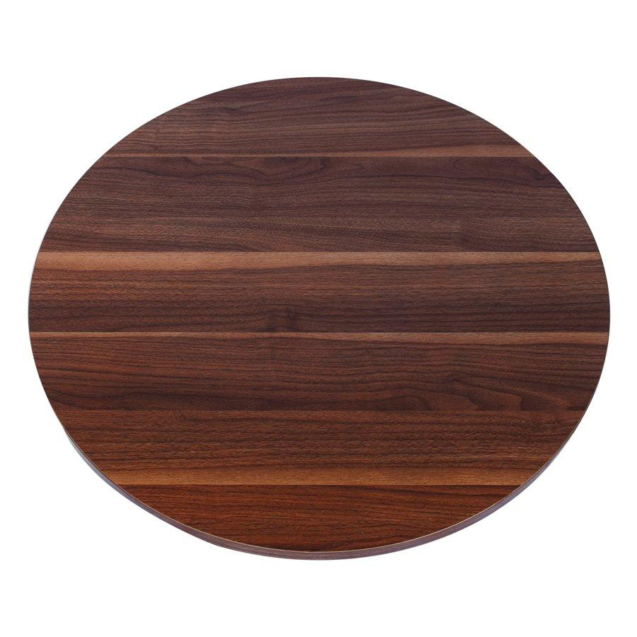 Corrie Round Table Top - Walnut