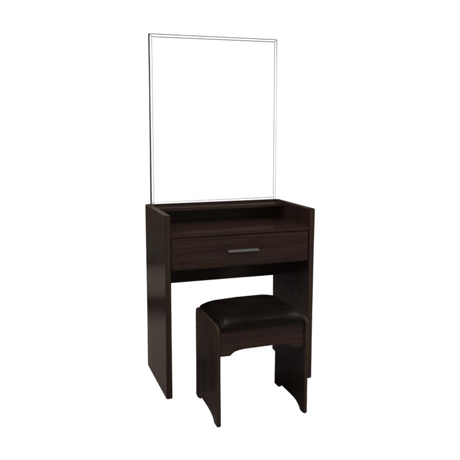 M837 Dresser with Stool