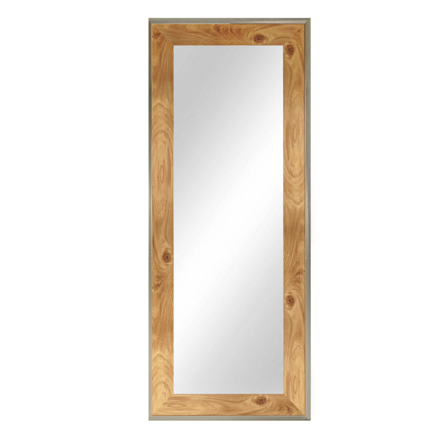 5885-81387T Golden Teak Mirror