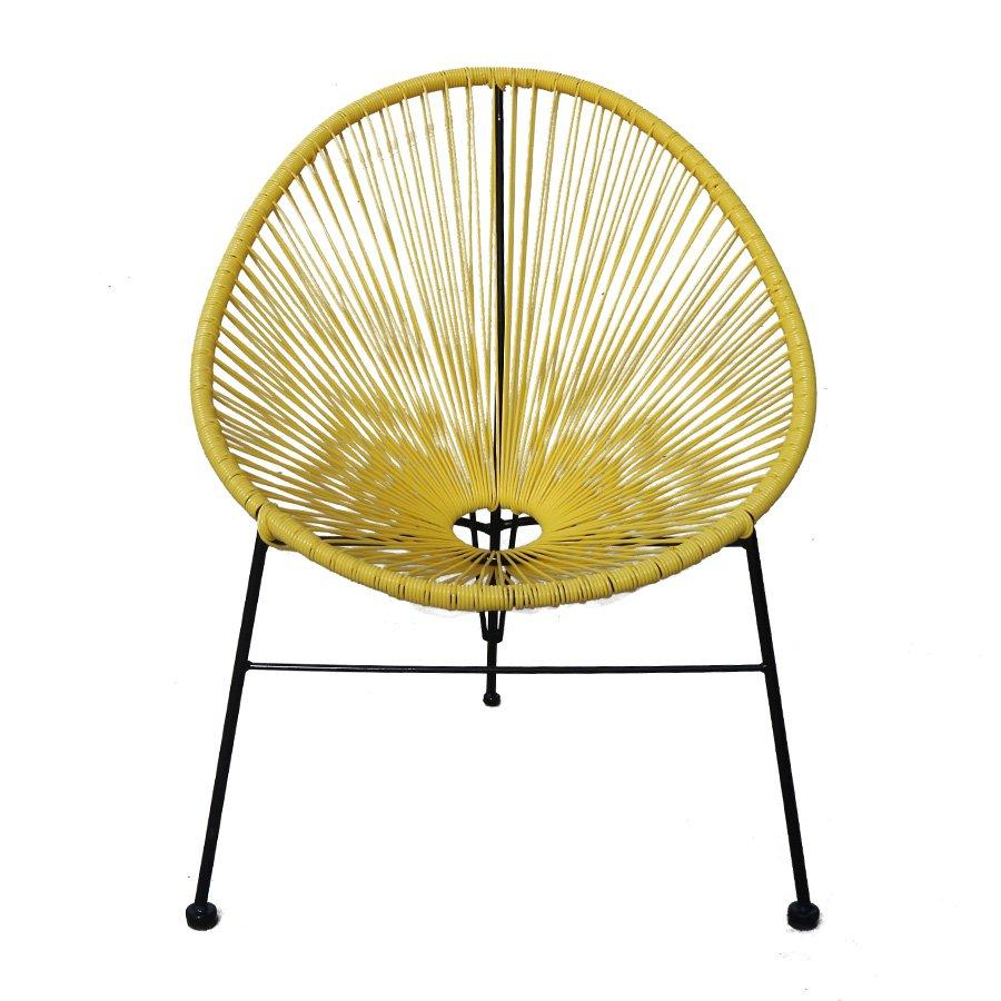 Dale Outdoor Lounger - Yellow