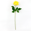 62cm Single Rose / Yellow