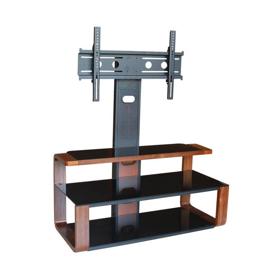 TS-175 Walnut Veneer TV Rack