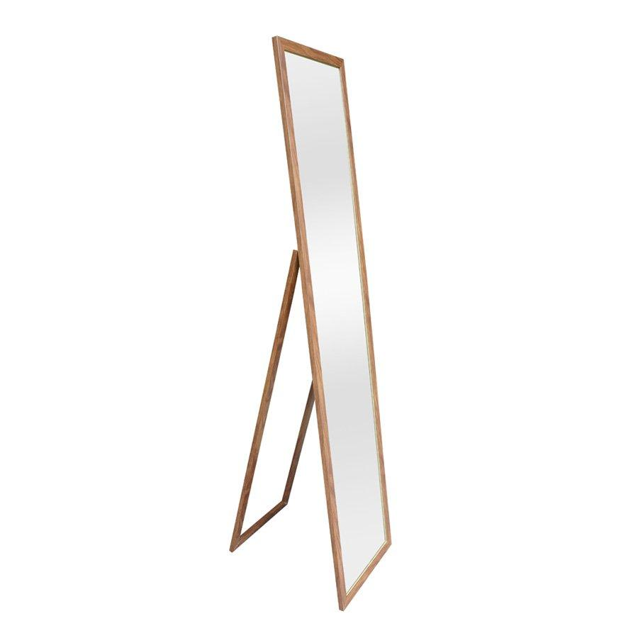 Billy Standing Mirror - Brown - Mandaue Foam