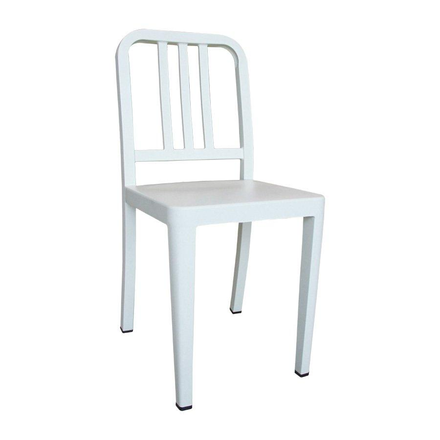 M-74536 Skate Metal Chair - Frosted Cream