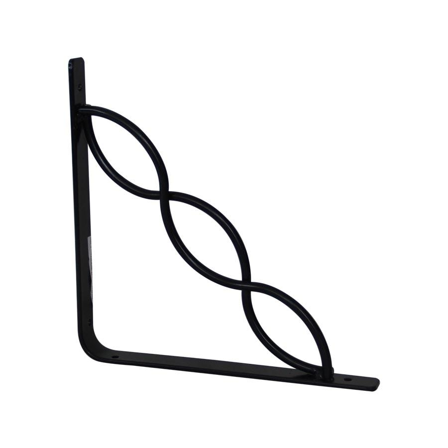 Infinity Metal Wall Bracket - Black