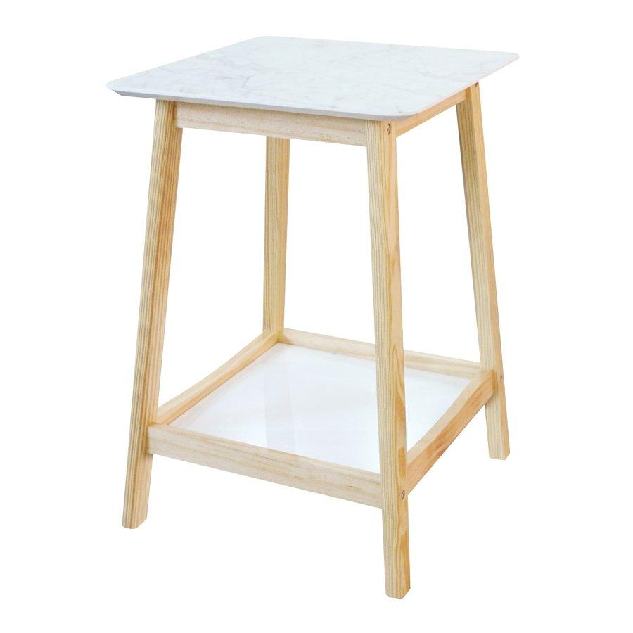 GUSTOV SIDE TABLE-MRBLE PTTERN 2