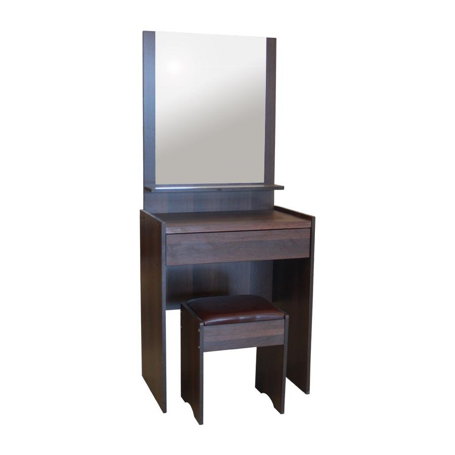 Toby Dresser With Stool - Brown