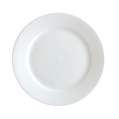 "7"" Flat Porcelain Side Plate - Mandaue Foam"
