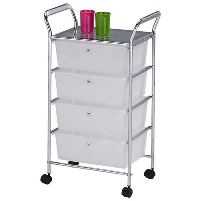 82422-04 LIBBY 4TIER DRAWER TROLLY