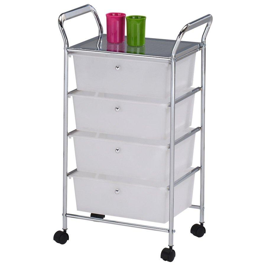 Libby 4 Tier Drawer Trolly