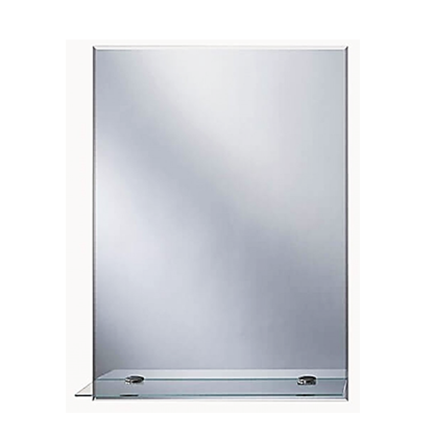8022 4mm Bevel With Shelf Mirror 60 X 45 cm