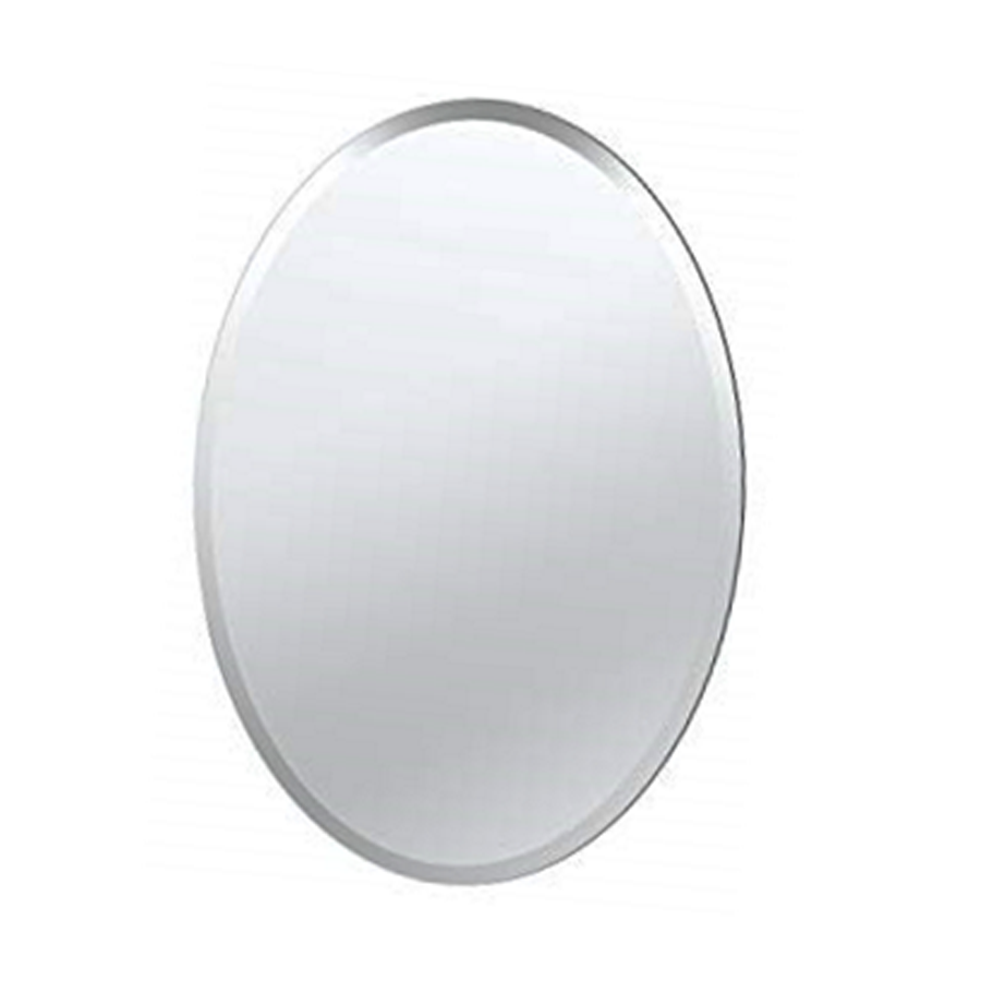 8134 Oval Mirror 45 X 35 cm Plain Side