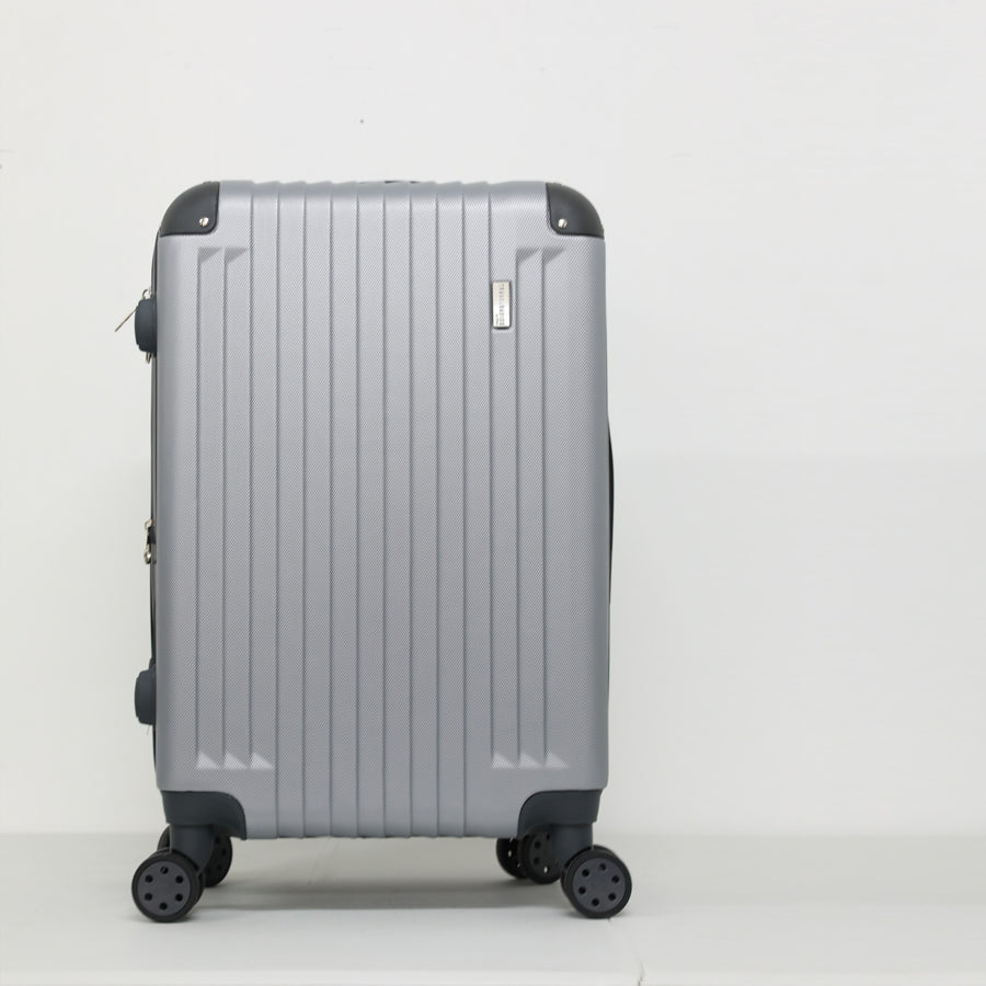 Dh17054 Abs Luggage - Silver