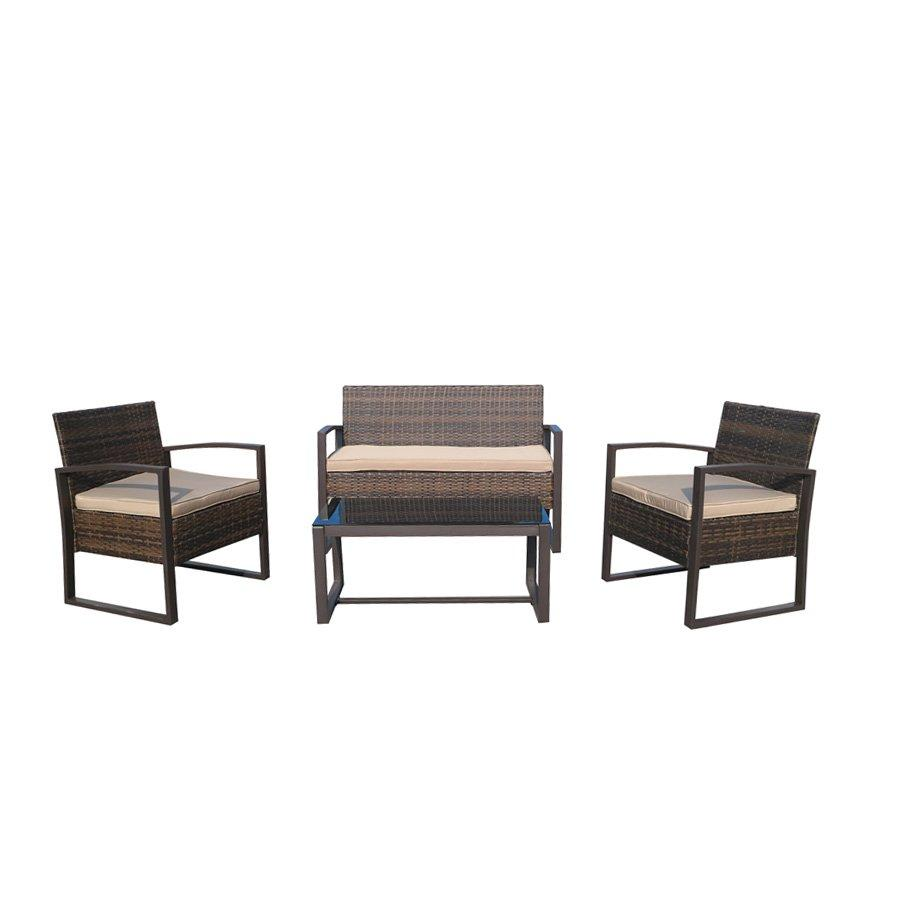 Rogan 4 Pc Outdoor Sofa Set