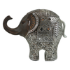 Resin Vintage with Silverlining Big Elephant