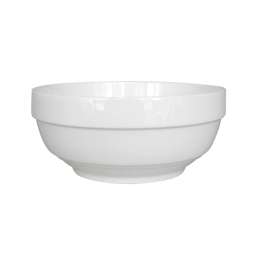 "8"" Porcelain Serving Soup Bowl - Big - Mandaue Foam"