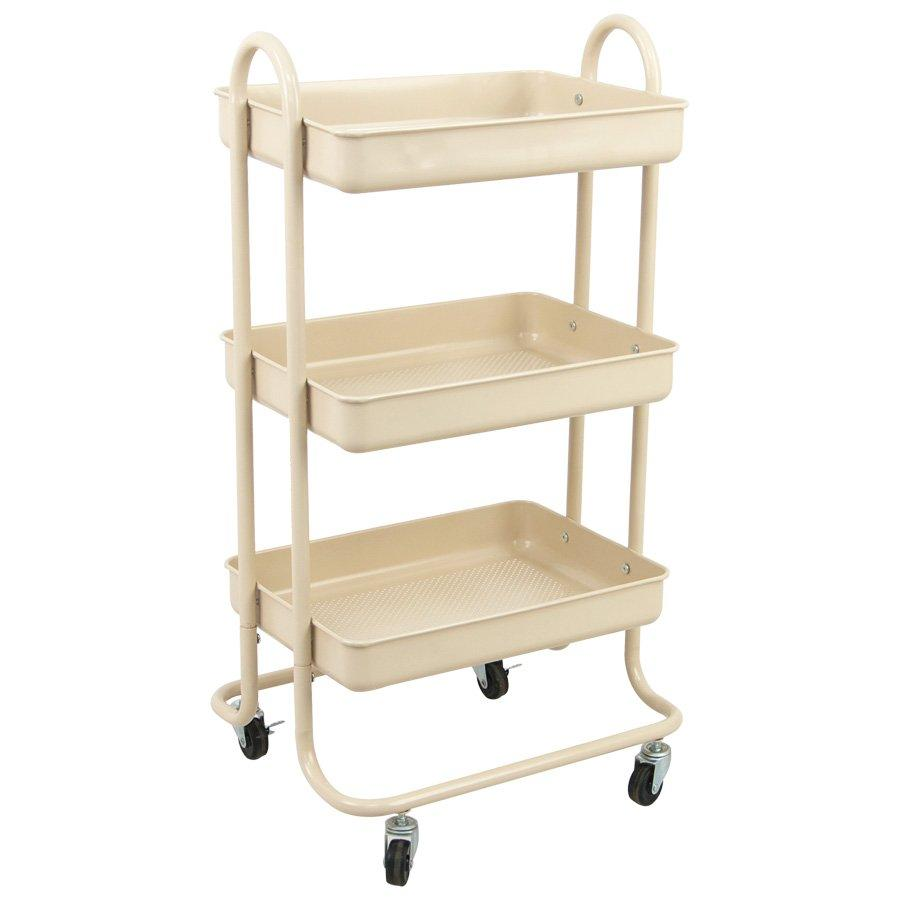 Surrey Kitchen Trolly - Matte Ivory