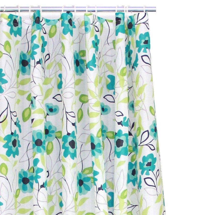 YW-SC-311 Flower Print Shower Curtain