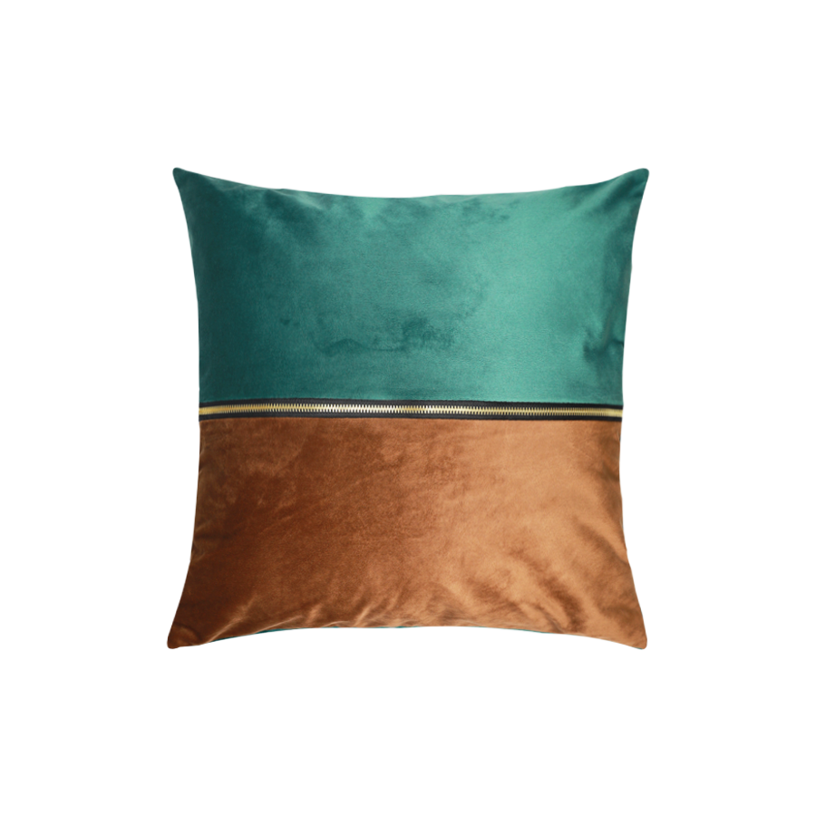 PLP08-90 Two-tone Green/Coffee 43x43cm