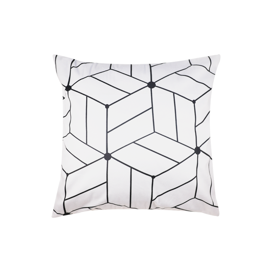 PLP08-114 Geometric Black/White