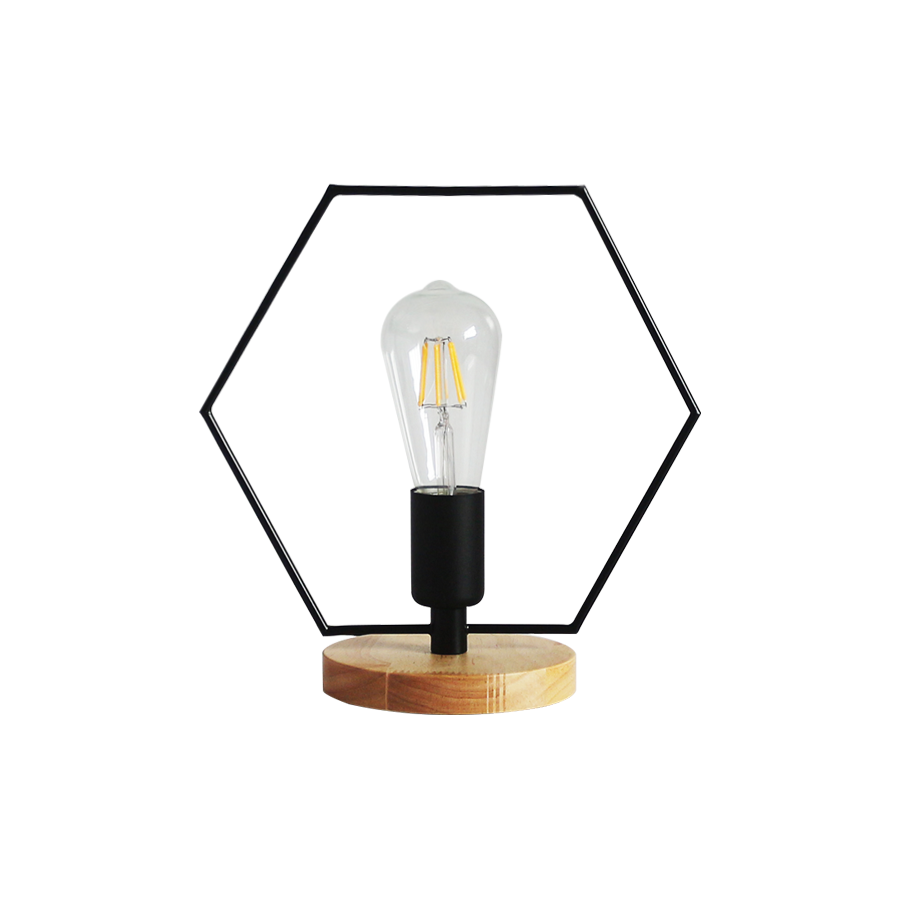 8318b Hexagonal Table Lampshade
