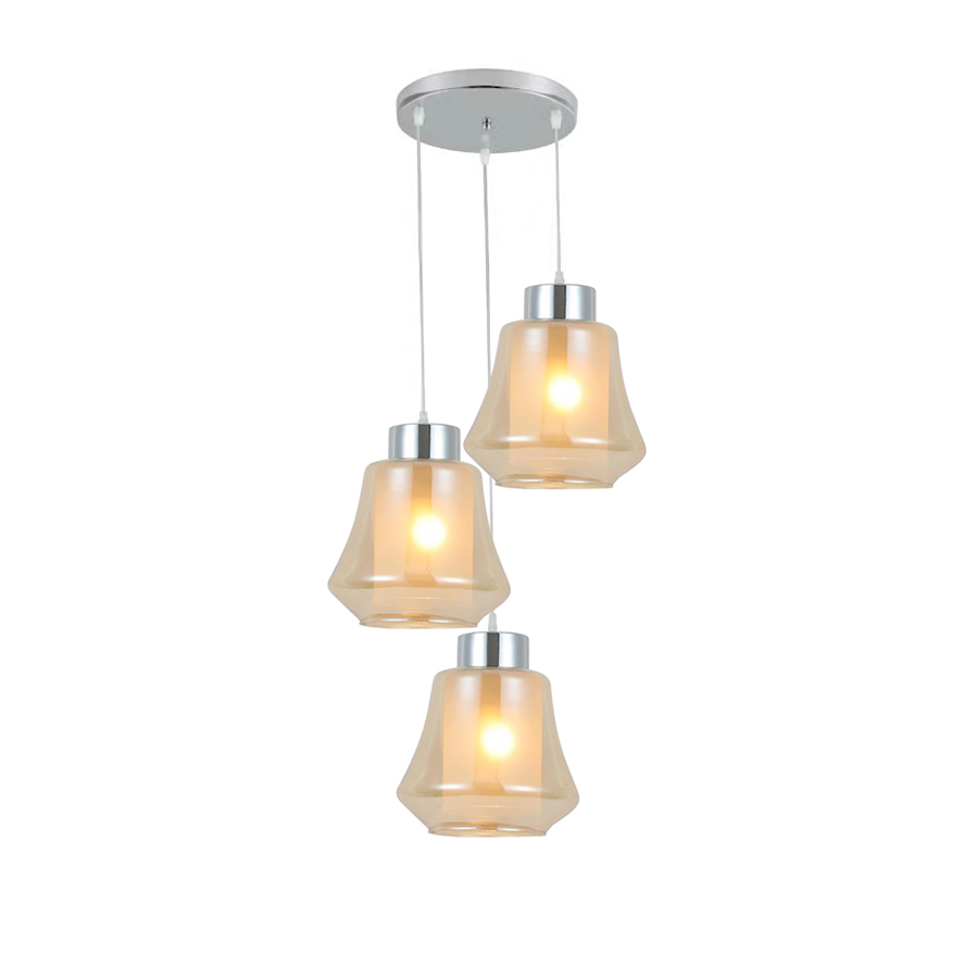00244/3pr Glass Pendant Lamp