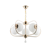 00093/5 Glass Chandelier