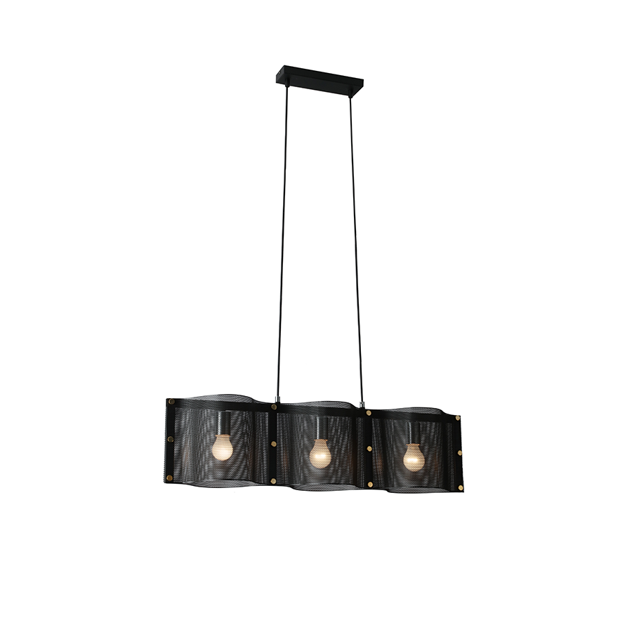 Md17841-3 Mesh Pendant Lamp