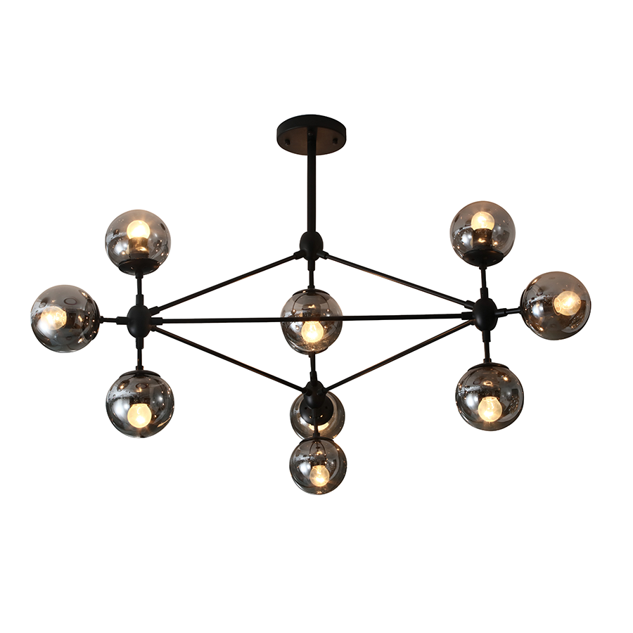 Md15509-10 Glass Chandelier