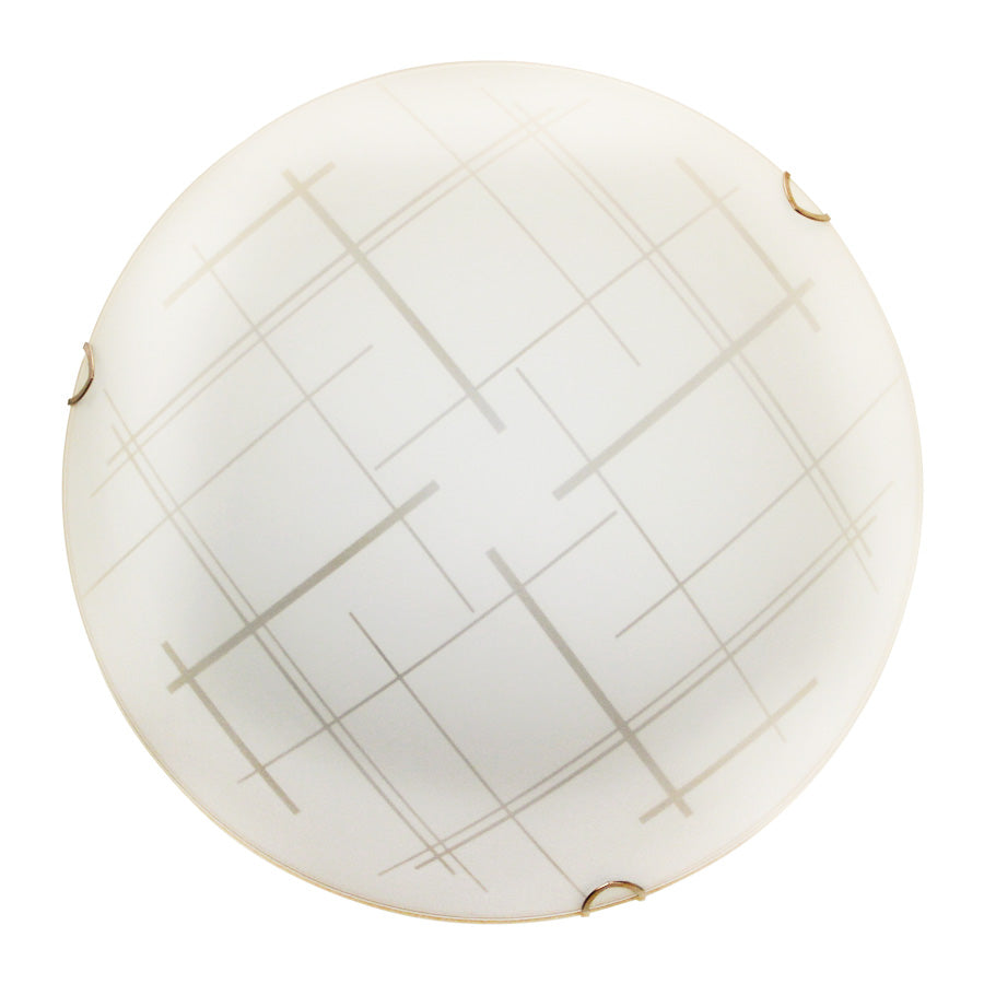 911/3L Crossing Line Ceiling Light - Mandaue Foam