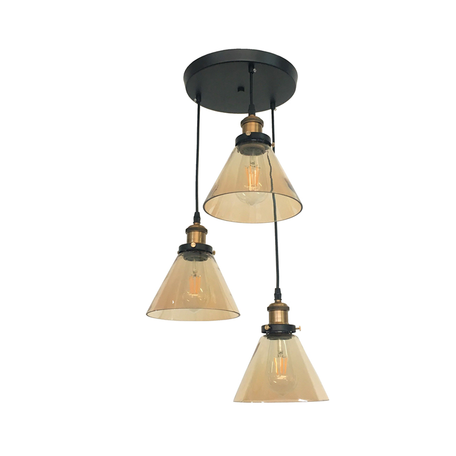 Sq319-3 Glass Pendant Lamp