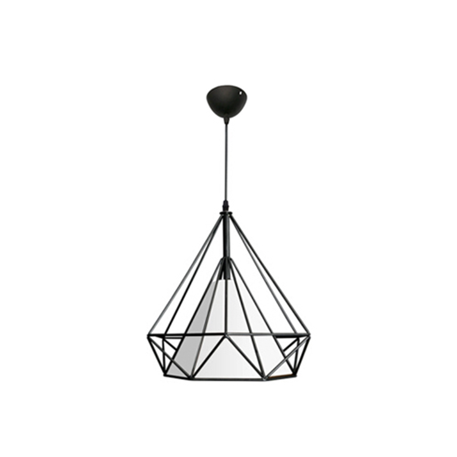 Sq001-1 Metal+PVC Pendant Lamp