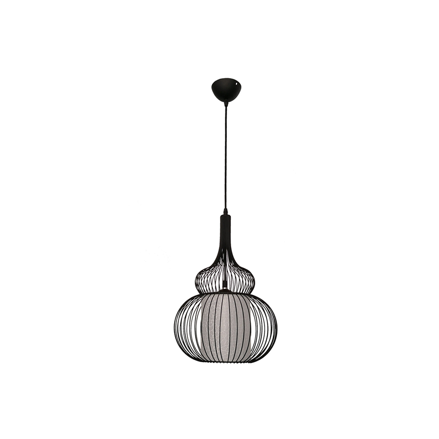 Sq183-1 Metal+PVC Pendant Lamp