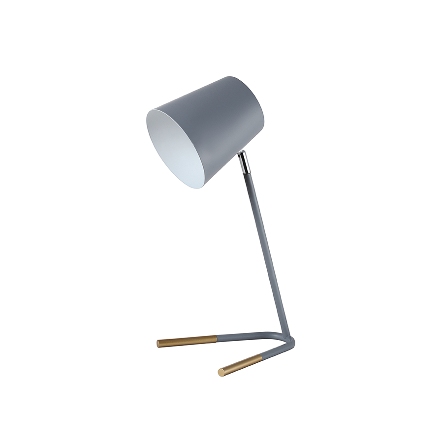Ty-2019 Gray Table Lamp