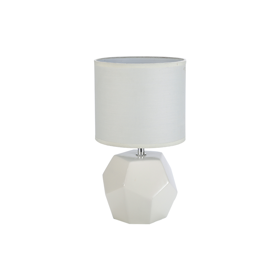 35886 White Ceramic Table Lamp