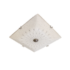 917/E27*3 03 400mm Square Ceiling Light - Mandaue Foam
