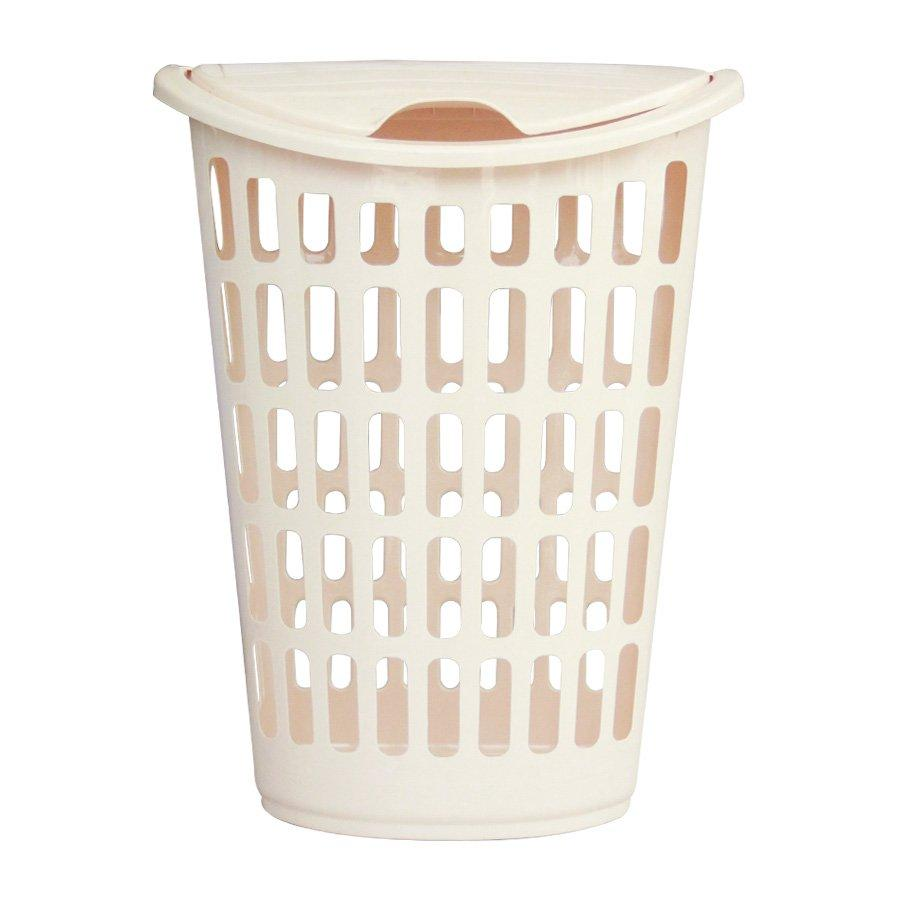 HX-7029 Laundry Hamper With Lid - Light Grey