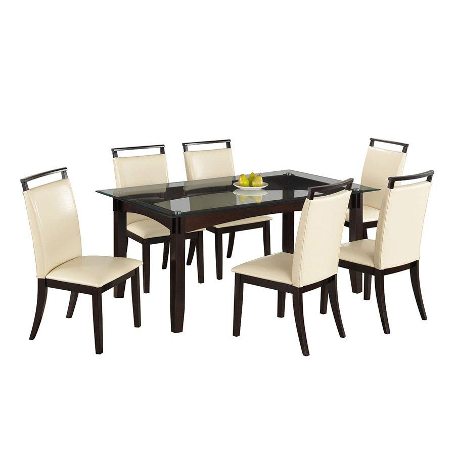 TS TOMMY 6 SEATER DINING SET