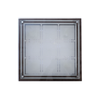 966A/E27*4 Square Glass Ceiling Lamp - Mandaue Foam