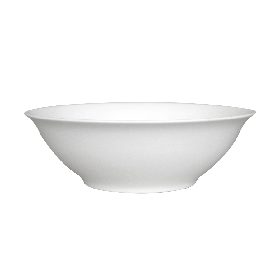 "9"" Porcelain Salad Bowl - Big - Mandaue Foam"