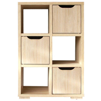 DV 8860-00 POLO 2 BOOKCASE - OAK