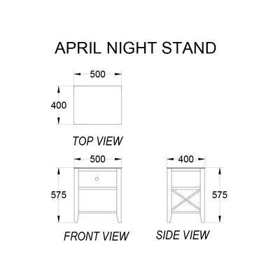 April Nightstand
