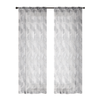 "AS-PAS-0127 Grey Leaf Rod Pocket 54 X 95"" - Mandaue Foam"