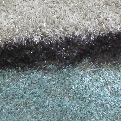 AWM-14286 Carpet With Blue And Beige Pattern