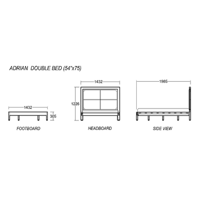 Adrian Double Bed